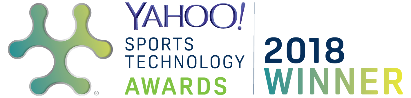 Logo Winner of the Yahoo Sports Technology Awards 2018